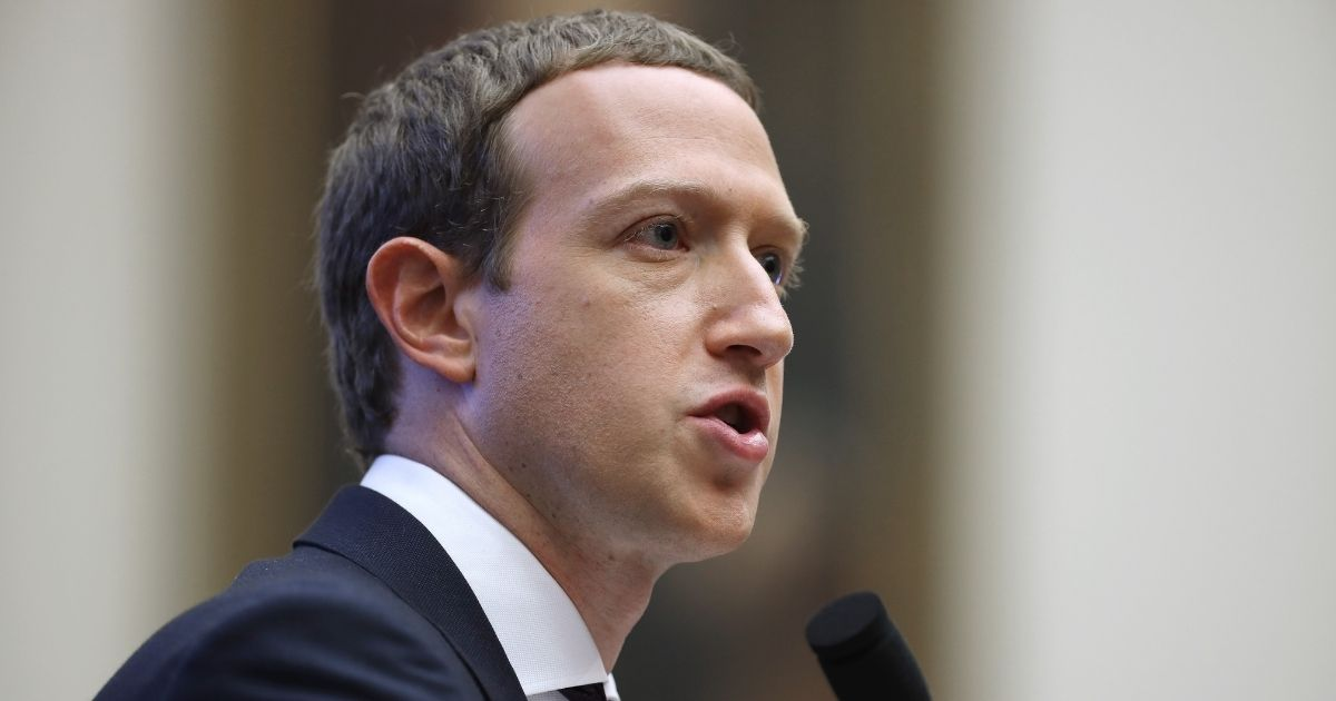 Facebook co-founder and CEO Mark Zuckerberg testifies before the House Financial Services Committee in the Rayburn House Office Building on Capitol Hill on Oct. 23, 2019, in Washington, D.C.
