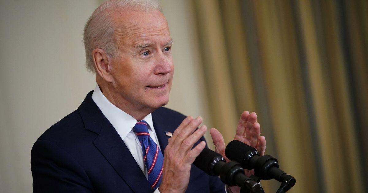 President Joe Biden, pictured speaking at the White House last week.