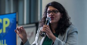 U.S. Rep. Rashida Tlaib, pictured in a file photo from 2019.