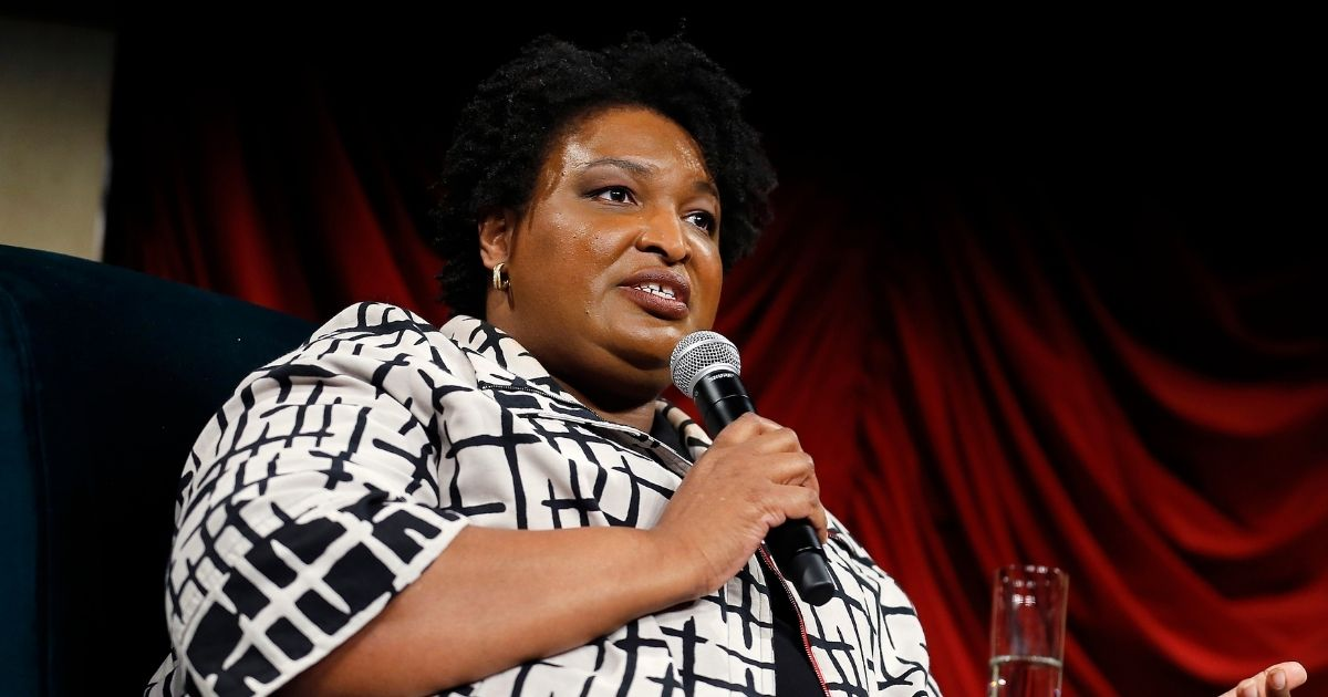 Stacey Abrams, the former Democratic candidate for the governor of Georgia, is pictured in a 2019 file photo from New York City.