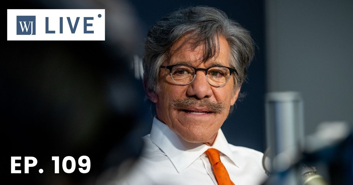"Geraldo Rivera visits ""The Dan Abrams Show"" at SiriusXM Studios in New York City on Nov. 1, 2018."