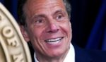 Democratic Gov. Andrew Cuomo speaks during a news conference in New York City on May 10.