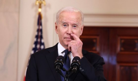 President Joe Biden delivers remarks on the conflict in the Middle East from the White House on Thursday in Washington, D.C.
