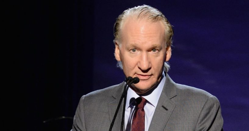 Bill Maher speaks onstage during the 6th Annual Sean Penn & Friends HAITI RISING Gala Benefiting J/P Haitian Relief Organization at the Montage Hotel on Jan. 7, 2017 in Beverly Hills, California.