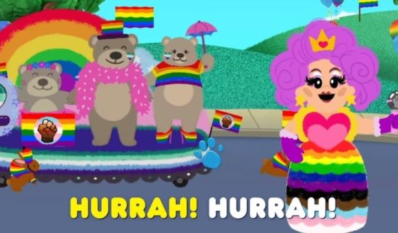 """The children's TV show """"Blue's Clues"""" has produced a gay pride parade sing-along track."""