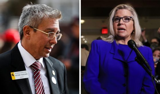 Republican Rep. Liz Cheney's team denied involvement as Wyoming state Sen. Anthony Bouchard, a high-profile Republican primary challenger to Cheney, admitted Thursday that he impregnated a 14-year-old girl when he was 18.