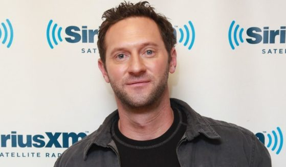 """TV personality Cade Courtley promotes his book """"SEAL Survival Guide: A Navy SEAL's Secrets to Surviving Any Disaster"""" at the SiriusXM Studios on Dec. 5, 2012, in New York City."""
