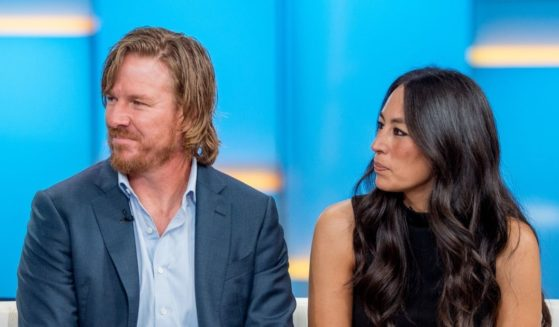 Chip and Joanna Gaines visit 'Fox & Friends' on Oct. 18, 2017 in New York City.