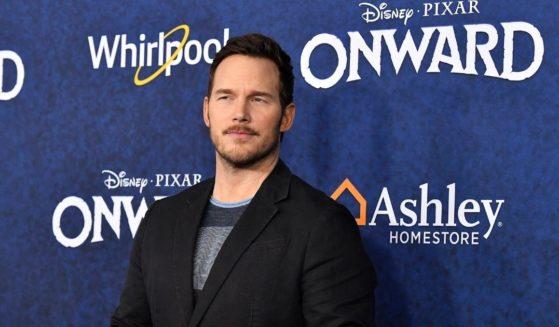 "Chris Pratt attends the Premiere Of Disney and Pixar's ""Onward"" on Feb. 18, 2020, in Hollywood,"
