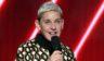 Ellen DeGeneres speaks onstage during the Grammy Awards at Staples Center in Los Angeles on Jan. 26, 2020.