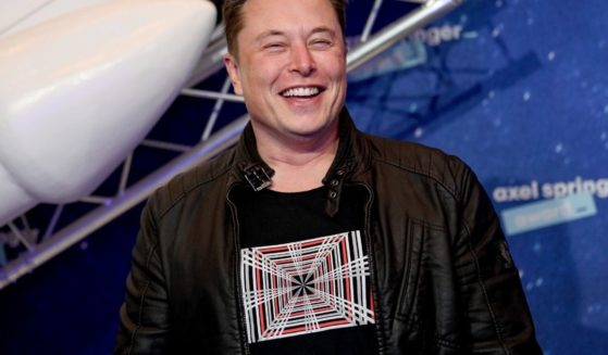 SpaceX owner and Tesla CEO Elon Musk poses on the red carpet of the Axel Springer Award 2020 on Dec. 1, 2020, in Berlin, Germany.