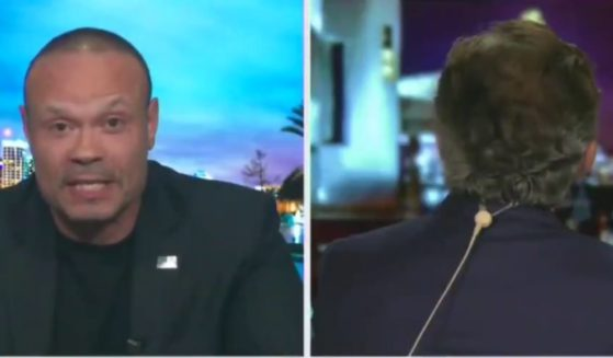 Dan Bongino and Geraldo Rivera get into a heated argument about the Israeli-Hamas conflict on Fox News on Wednesday.