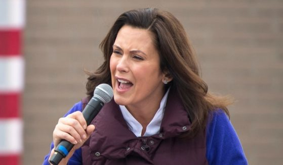 Michigan Gov. Gretchen Whitmer speaks on Oct. 25, 2020, in Detroit.