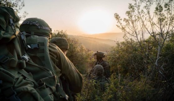 """As the sun sets on another week, we salute our troops defending the State of Israel. Shabbat Shalom,"" the Israel Defense Forces tweeted on Feb. 12."