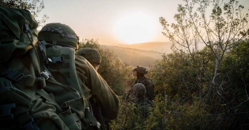 """""""As the sun sets on another week, we salute our troops defending the State of Israel. Shabbat Shalom,"""" the Israel Defense Forces tweeted on Feb. 12."""