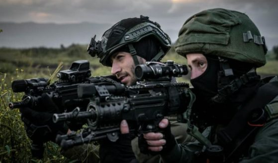 Israeli troops are seen in training in a May 3 post by the Israel Defense Forces.