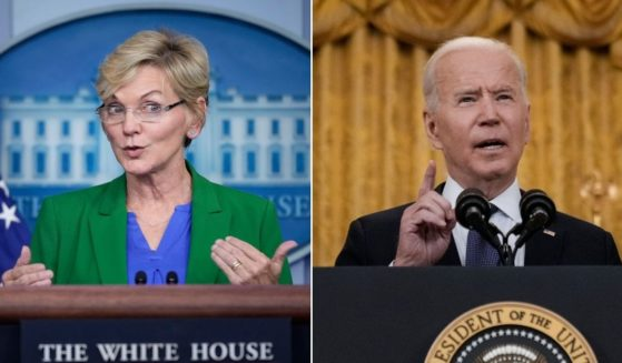 One of President Joe Biden's Cabinet members, Energy Secretary Jennifer Granholm, left, admitted on Tuesday that pipelines are the best way to transport fuel when discussing the recent cyberattack against Colonial Pipeline and the related fuel shortage.