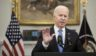 President Joe Biden delivers remarks on the Colonial Pipeline incident in the Roosevelt Room of the White House on Thursday in Washington, D.C.