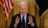 President Joe Biden speaks at the East Room of the White House on Friday in Washington, D.C.