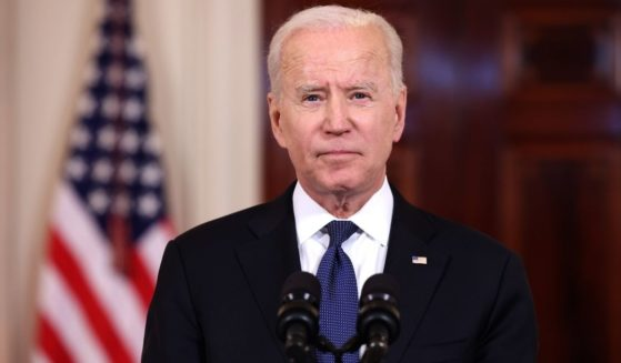 President Joe Biden delivers remarks on the conflict in the Middle East from Cross-Hall of the White House on May 20, 2021, in Washington, D.C.