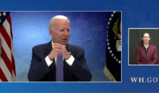 President Joe Biden began a White House livestream Tuesday with a stumbling start as he met virtually with a bipartisan group of governors about COVID-19 vaccinations.