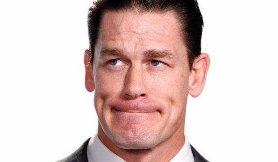 """John Cena visits """"The IMDb Show"""" in Santa Monica, California, on Jan. 10, 2020."""