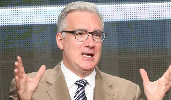 TV personality Keith Olbermann speaks onstage at the ESPN portion of the 2013 Summer Television Critics Association tour at the Beverly Hilton Hotel on July 24, 2013, in Beverly Hills, California.