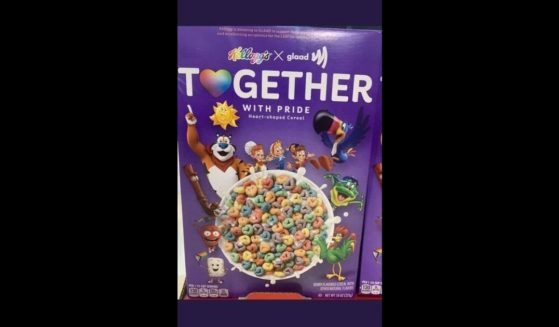 """Kellogg's relesed a """"Together with Pride,"""" product in partner with GLAAD."""