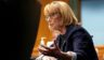 Democratic Sen. Maggie Hassan of New Hampshire asks questions during a Senate Health, Education, Labor and Pensions Committee hearing to discuss the ongoing federal response to COVID-19 on Tuesday in Washington, D.C.