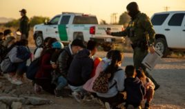 Chief Patrol Agent Chris Clem tweeted images on Monday that show migrants apprehended by the Yuma Sector.