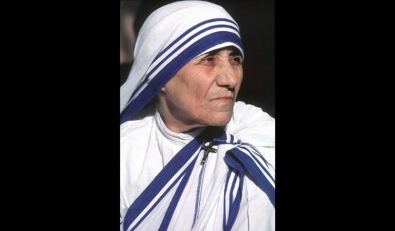 This undated picture shows Nobel Laureate Mother Teresa whose Missionaries of Charities Order runs hundreds of orphanages, hospices and leper homes throughout the world from its base in Calcutta, more than four decades home of the 86-year-old Albanian-born nun.