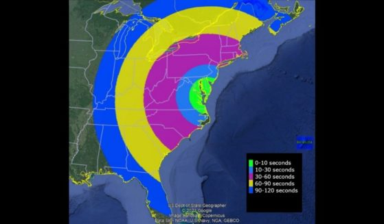 A NASA rocket launch has been planned for Sunday, and a visibility map released by the agency depicts where the rocket may be able to be seen.