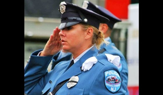 Former New Jersey police officer Sara Erwin was allegedly fired from her position due to a Facebook post.