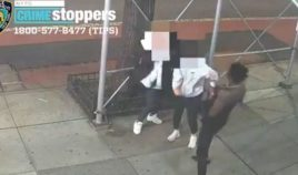 Two Asian women were attacked with a hammer on Sunday night in New York City.
