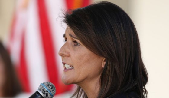 Former U.N. Ambassador Nikki Haley speaks on Oct. 12, 2020, in Scottsdale, Arizona.