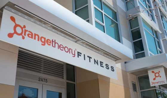 The above stock photo shows OrangeTheory Fitness, a gym focusing on High Intensity Interval Training, in downtown Berkeley, California, on May 17, 2018.