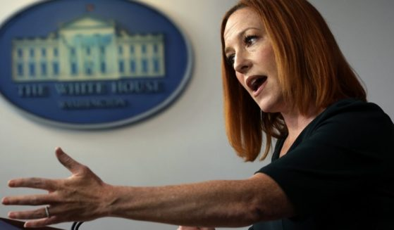 White House Press Secretary Jen Psaki speaks during a daily briefing on Tuesday in Washington, D.C.