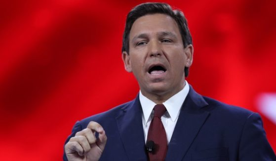 Florida Gov. Ron DeSantis speaks at the opening of the Conservative Political Action Conference on Feb. 26, 2021, in Orlando, Florida.