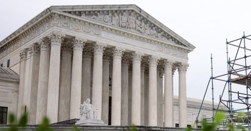 The Supreme Court building is seen on May 24, 2021, in Washington, D.C.