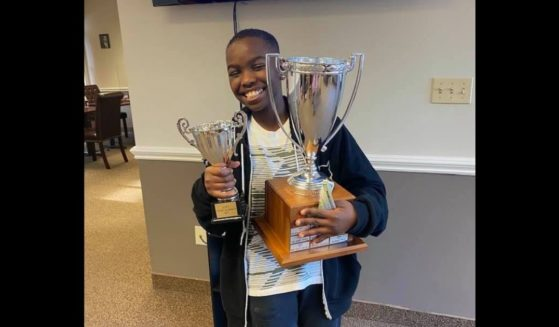 10-year-old Tani Adewumi, who just became a national chess master.