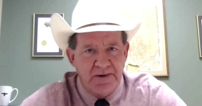 Jackson County Sheriff Andy Louderback slammed the president on Sunday for his decision to force the Texas National Guard to clean up trash left on the southern border by illegal immigrants.