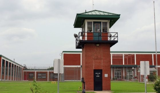 A prison is seen on May 21, 2013, in Huntsville, Texas.