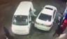Released gas station footage depicts an attempted carjacking in which the would-be victim prevented his assailants from stealing his car.