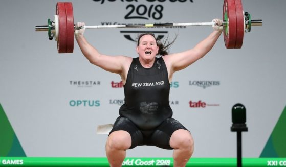 Laurel Hubbard, a male weight lifter, competes as a woman in the 2018 Commonwealth Games in Australia.