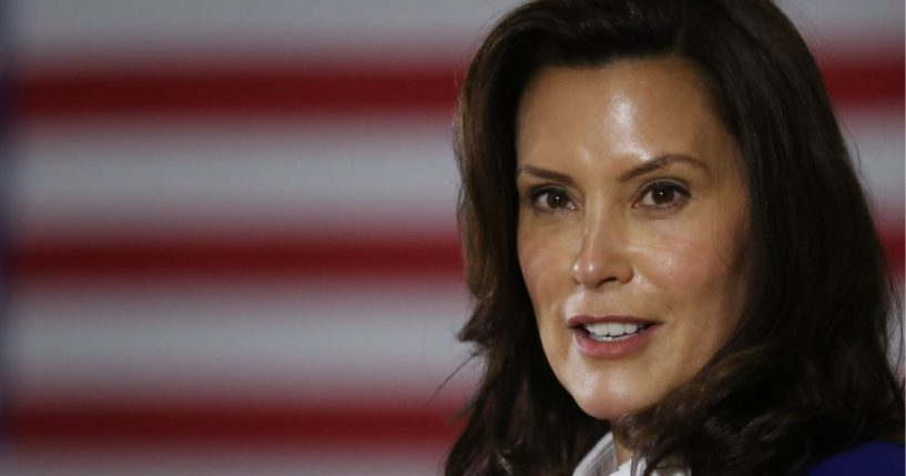 Michigan Gov. Gretchen Whitmer, pictured in an October file photo.