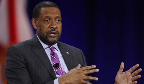 Vernon Jones, former Georgia state representative, participates in a discussion during the Conservative Political Action Conference held in the Hyatt Regency on Feb. 27, 2021, in Orlando.