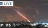 Rockets are launched toward Israel from Gaza City, controlled by the Palestinian Hamas movement, on Wednesday, amid the most intense Israeli-Palestinian hostilities in seven years.