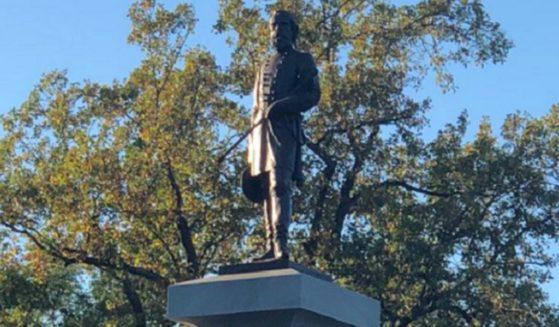 Memorial to Confederate Gen. A.P. Hill in Richmond, Virginia.