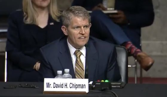 David Chipman, President Joe Biden's nominee for director of the Bureau of Alcohol, Tobacco and Firearms, testifies before the Senate Judiciary Committee on Wednesday.