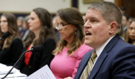 David Chipman, right, testifies before the House Judiciary Committee during a hearing on assault weapons in the Rayburn House Office Building on Capitol Hill on Sept. 25, 2019, in Washington, D.C.